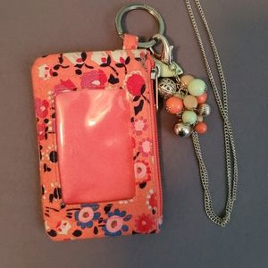 Vera Bradley ID holder with Paparazzi lanyard